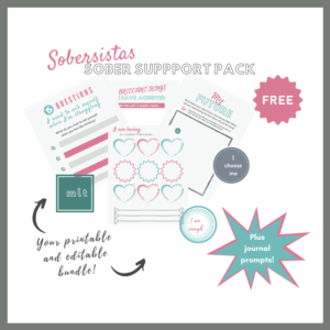 Free Sober Support Pack